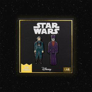 Pin Kings Star Wars Enamel Pin Badge Set 1.48 – A-Wing Pilot and Imperial Dignitary