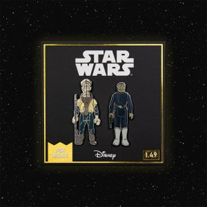 Pin Kings Star Wars Enamel Pin Badge Set 1.49 – Yak Face and Snaggletooth (Variant)