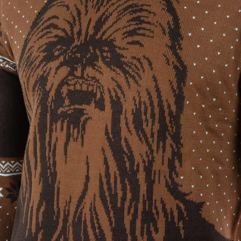 Star Wars Kiss a Wookiee Christmas Jumpers / Ugly Sweater