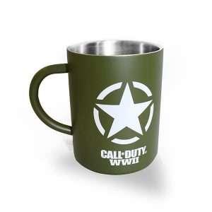 Call of Duty WW2 Freedom Star Steel Mug