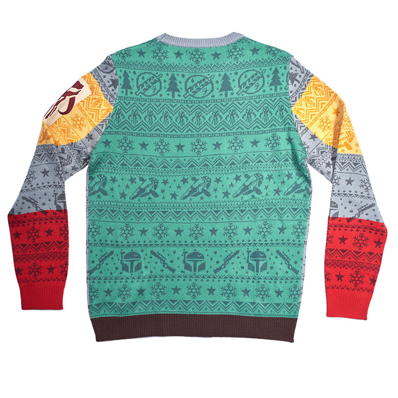 Official Boba Fett Difuzed Christmas Jumper / Ugly Sweater