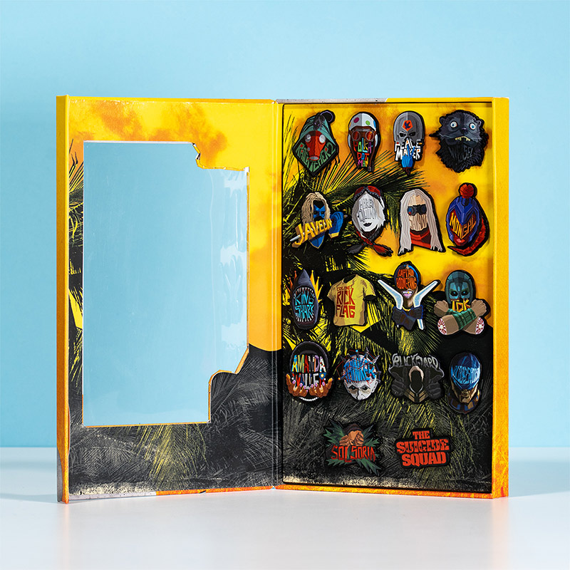 Official The Suicide Squad Pin Badge Set