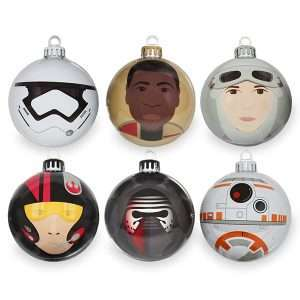 Star Wars The Force Awakens Christmas Decorations / Ornaments