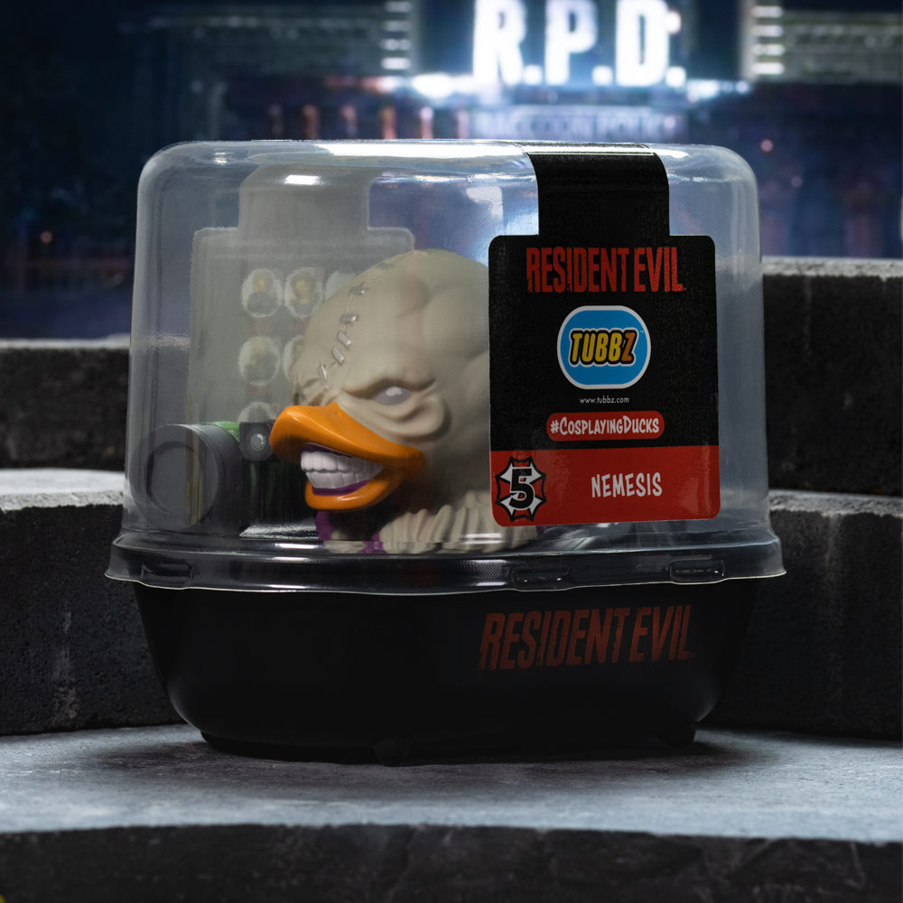 Resident Evil Nemesis TUBBZ Cosplaying Duck Collectible