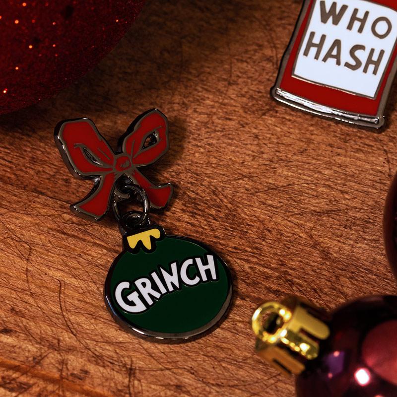 Pin Kings The Grinch Enamel Pin Badge Set 1.1