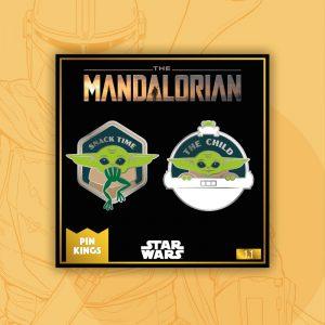 Pin Kings Star Wars The Mandalorian Enamel Pin Badge Set 1.1