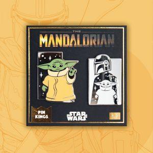 Pin Kings Star Wars The Mandalorian Enamel Pin Badge Set 1.2