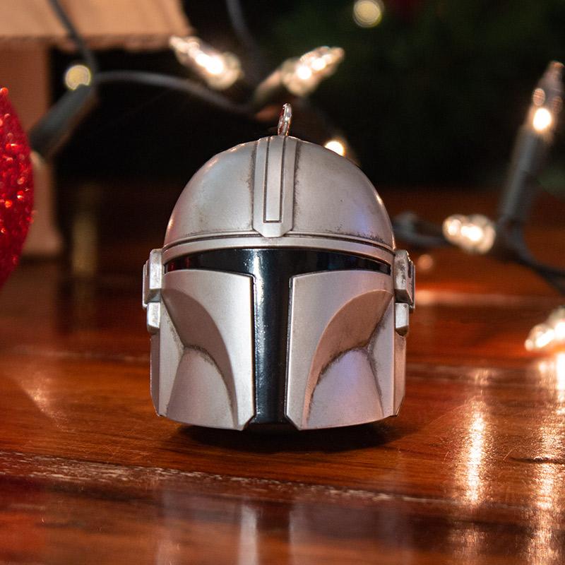 Official Star Wars 'The Mandalorian' 3D Christmas Decoration / Ornament