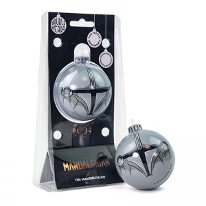 Bauble Heads Star Wars The Mandalorian 'Mandalorian' Christmas Decoration / Ornament