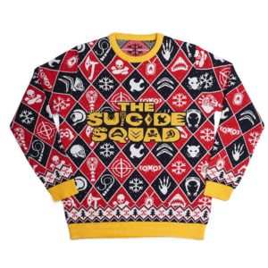 Official The Suicide Squad Christmas Jumper / Ugly Sweater