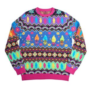 Official Trolls Christmas Jumper / Ugly Sweater