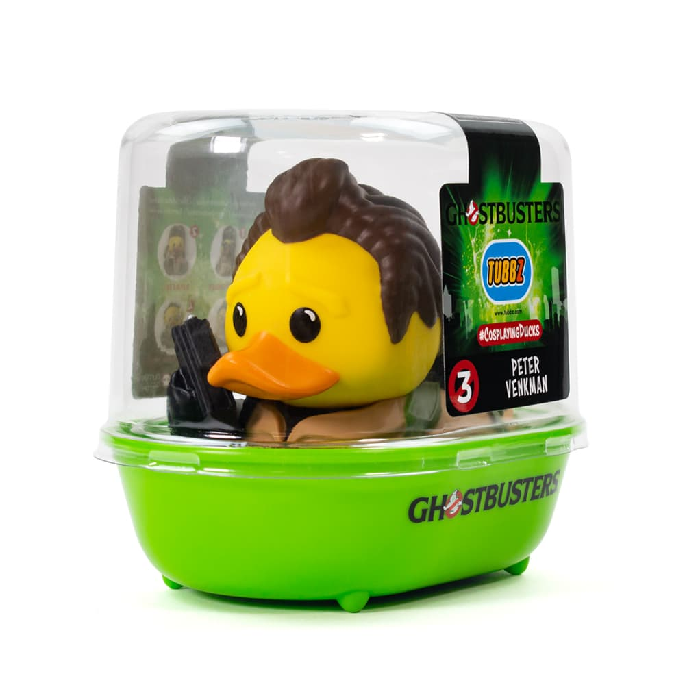 Ghostbusters Peter Venkman TUBBZ Cosplaying Duck Collectible