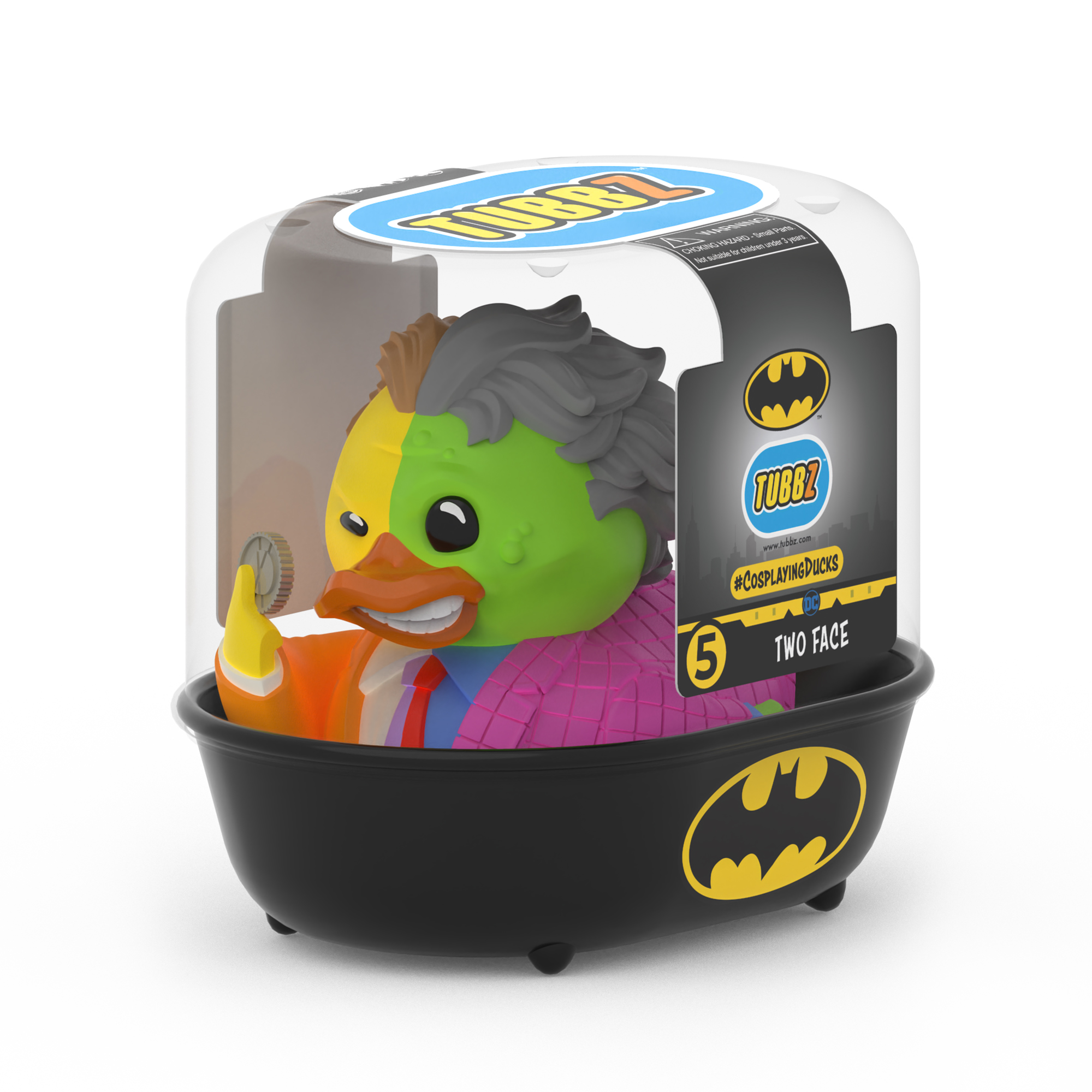DC Comics Two-Face TUBBZ Cosplaying Duck Collectible
