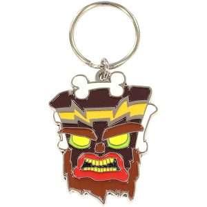 Crash Bandicoot Uka Uka Keyring / Keychain