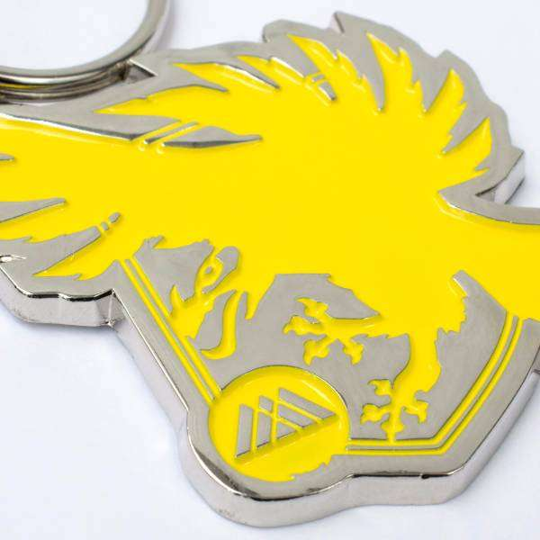 Destiny 2 Warlock Parade Crest Keyring / Keychain