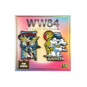 Pin Kings Wonder Woman '84  Enamel Pin Badge Set 1.2 – Fight For Justice