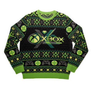 Official Classic Xbox Christmas Jumper / Ugly Sweater