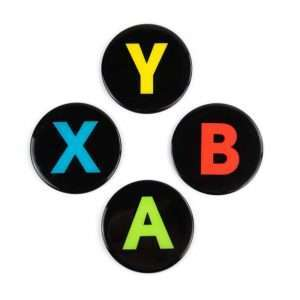 Xbox Controller Button Coasters (4 Pack)
