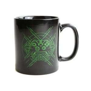 Xbox Metal Badge Heat Changing Mug