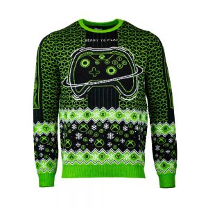 Official Xbox 'Ready To Play' Christmas Jumper / Ugly Sweater