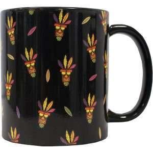 Crash Bandicoot Aku Aku Pattern Mug