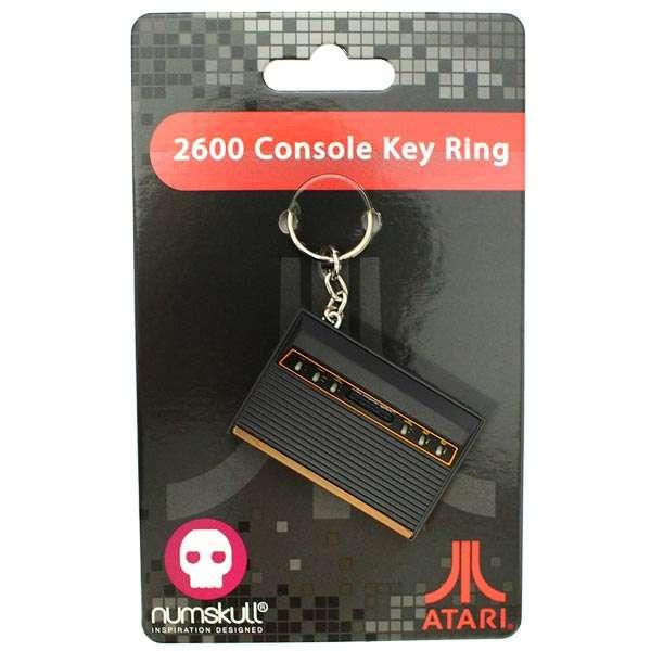 Atari 2600 Console Keyring / Keychain