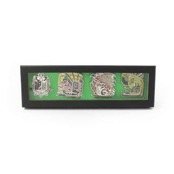 Monster Hunter World Pin Badge Set