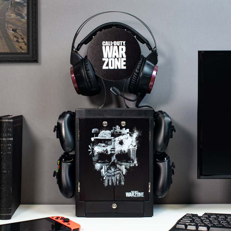 Official Call Of Duty Warzone Gaming Locker (PS4, PS5, Xbox One and Xbox Series S and Series X)