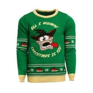 Crash Bandicoot Christmas Jumper / Ugly Sweater