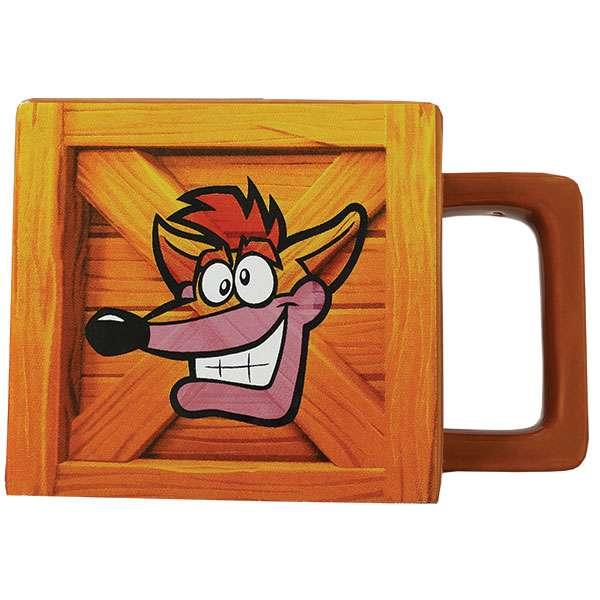 Crash Bandicoot Crate Mug