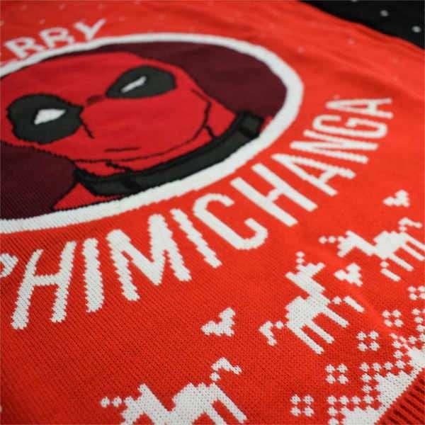 Deadpool Merry Chimichanga Jumper / Ugly Sweater