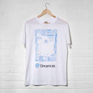 Official Dreamcast White T-Shirt (Unisex)