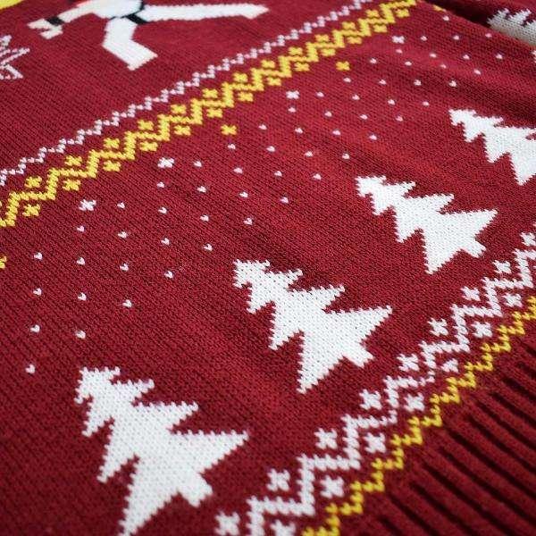Street Fighter Ken Vs. Ryu Christmas Jumper / Ugly Sweater