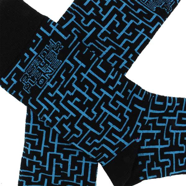Ready Player One Maze Socks