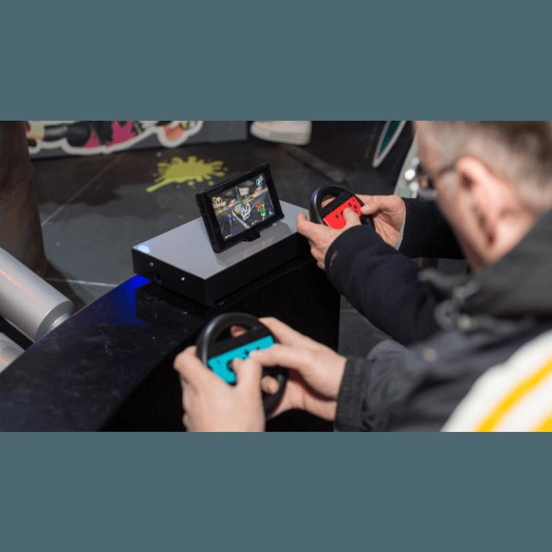 Numskull Nintendo Switch Joy-Con Controller Wheel Adaptor (2 Pack)