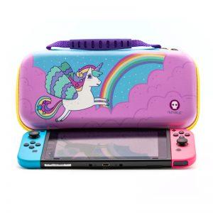 Numskull Nintendo Switch Unicorn Game Cartridge Storage / Travel Case