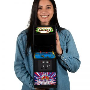 Galaga Quarter Scale Arcade Cabinet