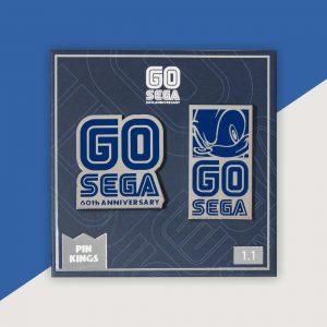 Pin Kings SEGA 60th Anniversary Pin Badge Set 1.1