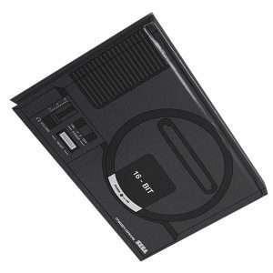 SEGA Mega Drive Console Notebook