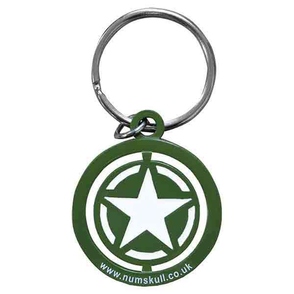 Call of Duty WW2 Star Spinner Keyring / Keychain