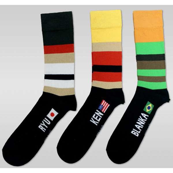 Street Fighter Socks